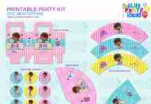 Doc Mcstuffins printable party kit
