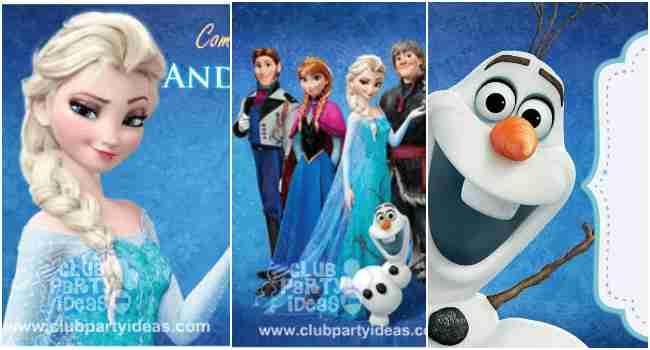 frozen birthday invitations free    printable templates u30102018 u3011