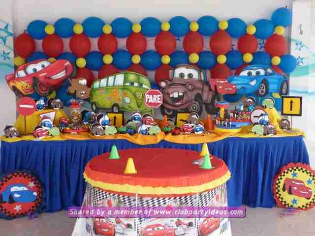 clubpartyideas-decorations-party-cars-rayo-mcqueen-00030 & cars lightning mcqueen decoration ideas for birthday party