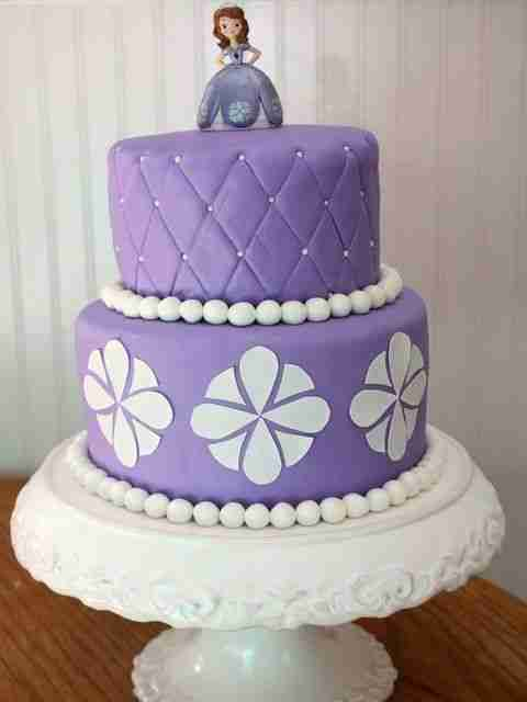 Sofia the First Birthday Cake pictures ideas