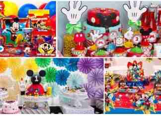 Oringinal Mickey Mouse Birthday Party Ideas
