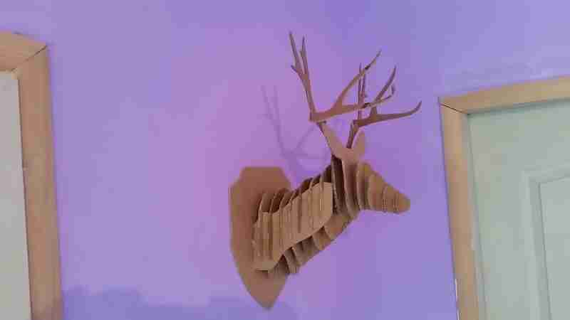 Deer Head 3D DIY